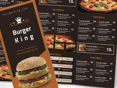 flyer Burger King