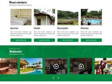 Layout PSD | Hotel & Balneário | Barbalha - CE