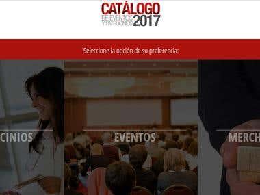Desarrollo de la plataforma CMS Eventos