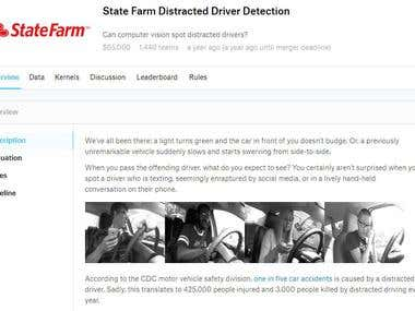 State Farm Distracted Driver Detection