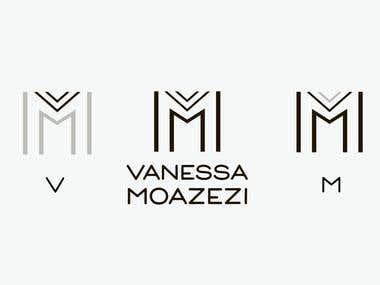 Vanessa Moazezilogo design
