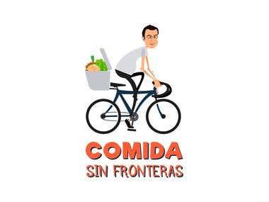 """Logotipo """" Comida sin fronteras """""""