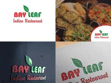 Bay leaf logo