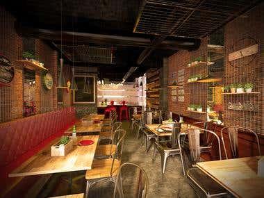 Hotbricks BBQ & Grill REstaurant