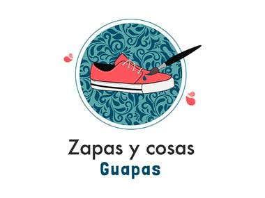 """Logotipo """" Zapas y cosas guapas """""""