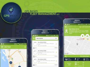 GPSWEEN : Fleet Management App