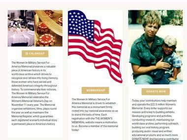 Women's Memorial US Military