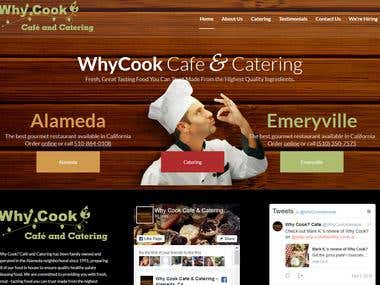 WhyCook – We use the freshest & best ingredients available