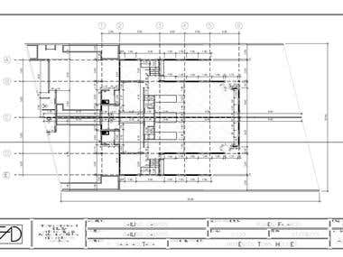 AutoCAD 2D House proyection and design