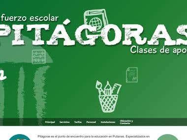 Pitágoras (Academy) website: pitagoraspulianas.es