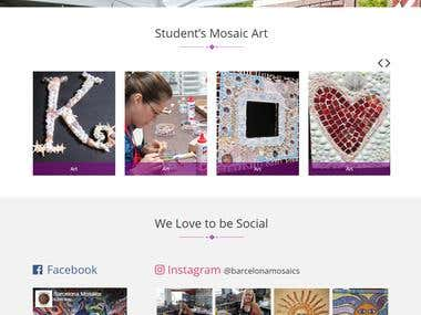 Barcelona Mosaics - Web Development