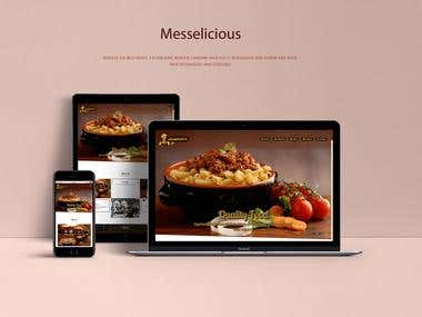 Complete Responsive Landing Web page