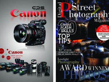 MAGAZINE COVER FOR PROFESSIONAL PHOTOGRAPHY