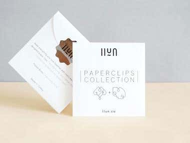 Paperclips Collection Packaging Design