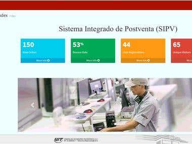 Desarrollo de la plataforma SIPV