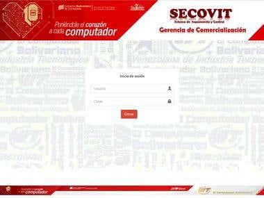 Desarrollo de la plataforma SECOVIT