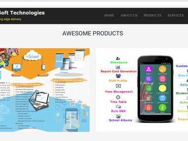 Responsive Web Site design - HTML 5, CSS