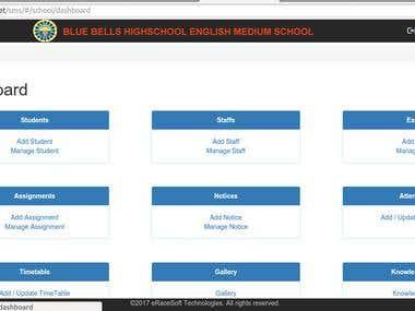 i-School Web App in Angular