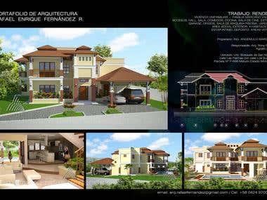 Diseño Arquitectónico e Renders