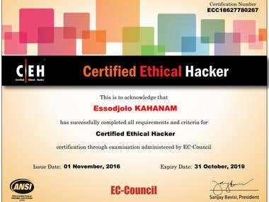 Certified Ethical Hacker v9