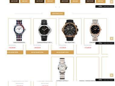 e -Commerce website
