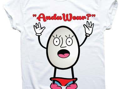 Cartoon t shirt design