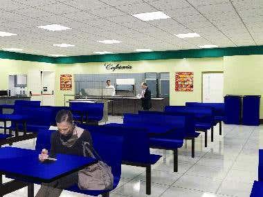 Render Cafeteria