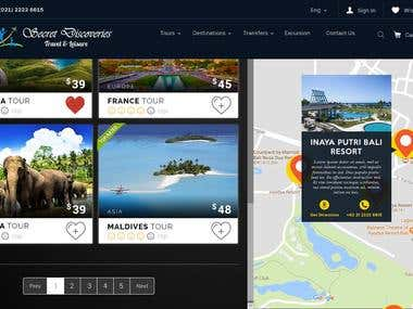 UI / UX Website Design