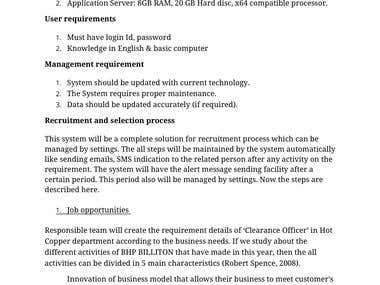 Research paper - Human resource database management system