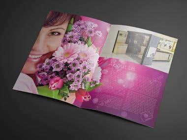 Brochure Design, Lilac Qatar