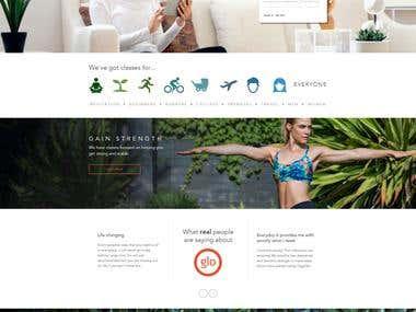 Personal Trainer Yoga WordPress Theme