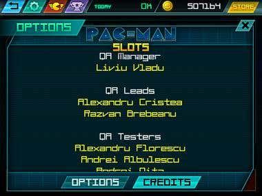 QA Team Leader: PAC-MAN Slots (Android, iOS and Amazon)