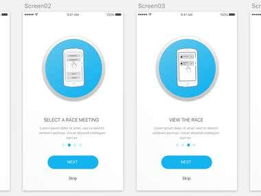 Help Screen - Mobile App
