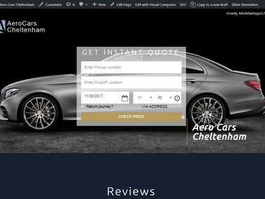 Car Booking Engine WordPress