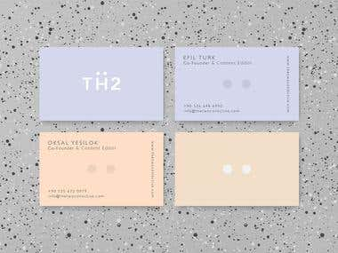 TH2 Business Card Design