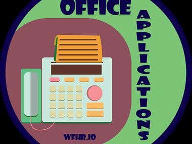 Office Application Badge