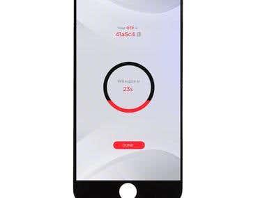 OTP Mobile Application Design