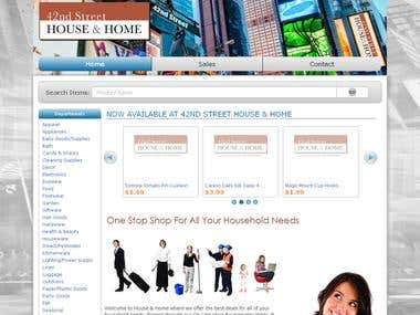 House & Home NYC Website