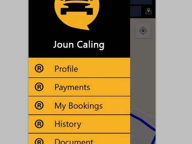 Taxi App for android and ios