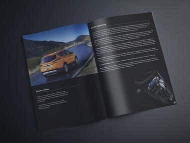 brochure for FORD upcoming model