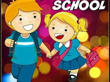 Cartoons Model For Kids School