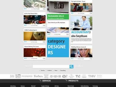 PSD to HTML Responsive Grid Template