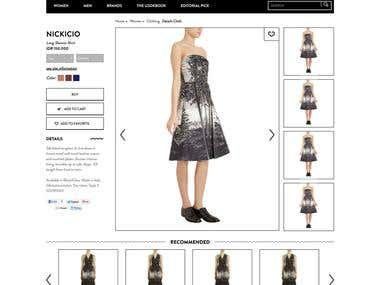 Responsive eCommerce or Shopping HTML Template