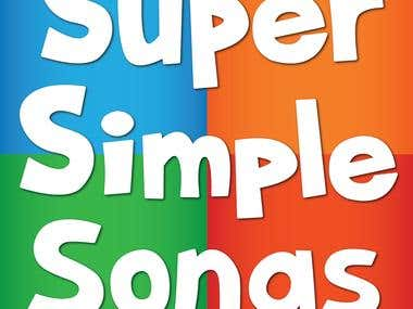 4 Kids Songs for Super Simple Songs Youtube Channel