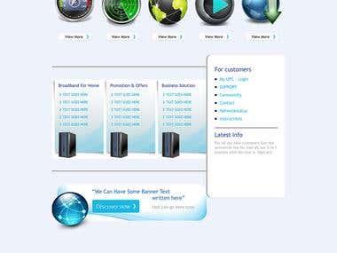 WordPress Broadband Service Responsive Theme
