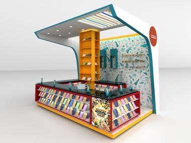 Booth Stand Kiosk
