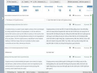 Translate with application translation platform