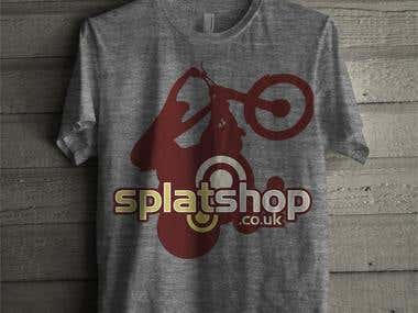 Splat Shop T-shirt