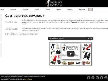 Shopping Online Website