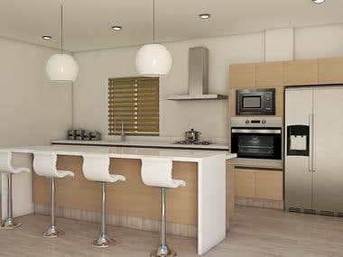 Laminate HPL and High Gloss Kitchen